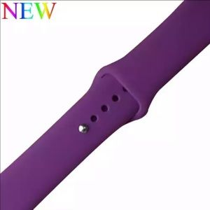 ⌚️2for$25 Purple Violet silicone BAND apple iWatch